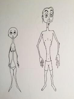 Emaciated